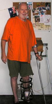 James Montgomery in 2008