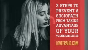 3 steps to protect yourself from sociopaths