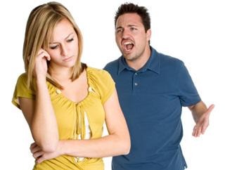 Angry couple 320x240
