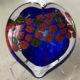 Art glass heart