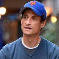 Anthony Weiner from his Twitter account, which no longer exists.