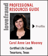 Carol Mooney, certified life coach