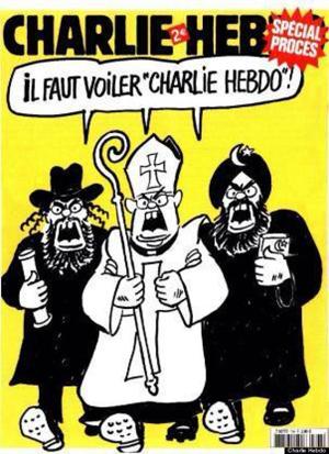 Charlie hebdo veiled