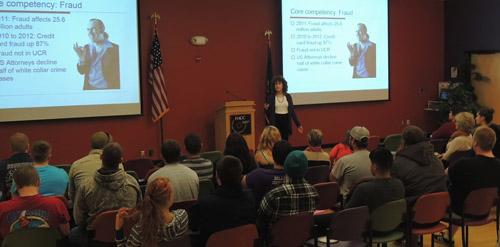 Donna Andersen at HACC