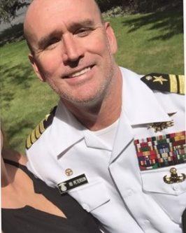 Derek Alldred as a fake Navy SEAL