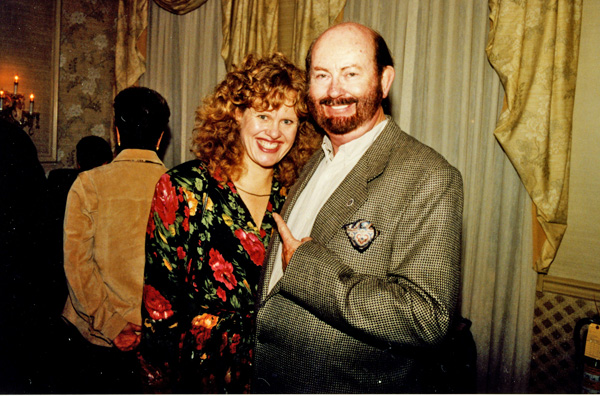 Lovefraud author Donna Andersen and her ex-husband, James Montgomery, who after their marriage was diagnosed as a psychopath.