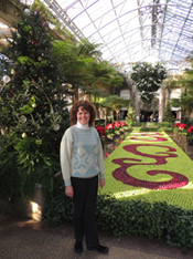 Donna Andersen at Longwood Gardens