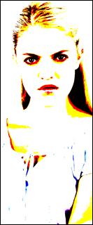 Female sociopath colorized