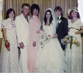 Joyce Jaccodie at her daughter's wedding