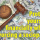 Protect your money when divorcing a sociopath