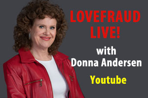 Lovefraud Live with Donna Andersen