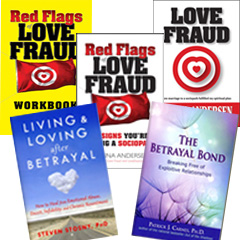 The Lovefraud Recovery Collection of books.