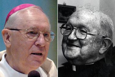 Bishops Joseph Adamec and James Hogan