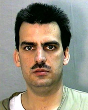 Patrick Giblin told at least one victim that he had blond hair. Photo from the New Jersey Department of Corrections.