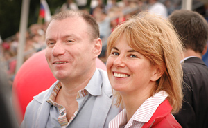 Vladimir and Natalia Potanin.