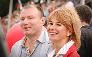 Vladimir and Natalia Potanin.