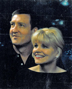 Roger and Kathleen Mills had their portrait taken in 2005 shortly before he walked out on her.