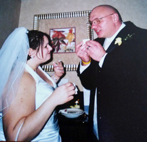 Penny Navarro and Tom Guida married on March 26, 2006.