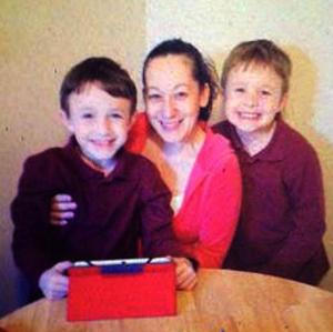 Tracy Jordan and boys