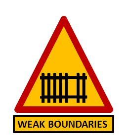 Weak Boundaries