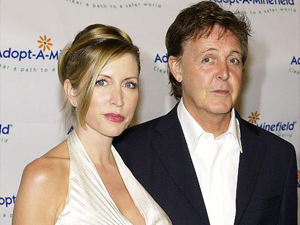 Heather Mills and Paul McCartney (Bucci/Getty)
