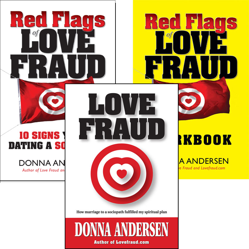 All 3 Lovefraud books