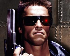 """Arnold Schwarzenegger in """"Terminator."""""""