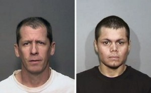 Stephen Dean Gordon, 45 (left) and Franc Cano, 27