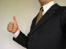 businessman thumbsup