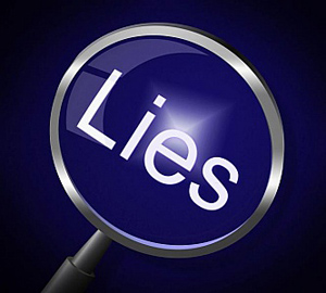 lies-magnifier-represents-no-lying-and-correct