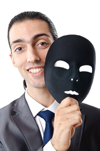 man with black mask 200x300