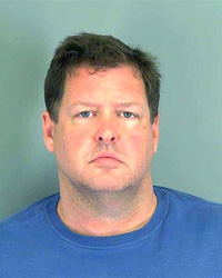 Todd Kohlhepp of Moore, S.C. Kohlhepp was arrested Thursday, Nov. 3, 2016, in connection to a woman being found chained inside a storage container on a property in Woodruff, SC. (Spartanburg County Sheriff's Office via AP)